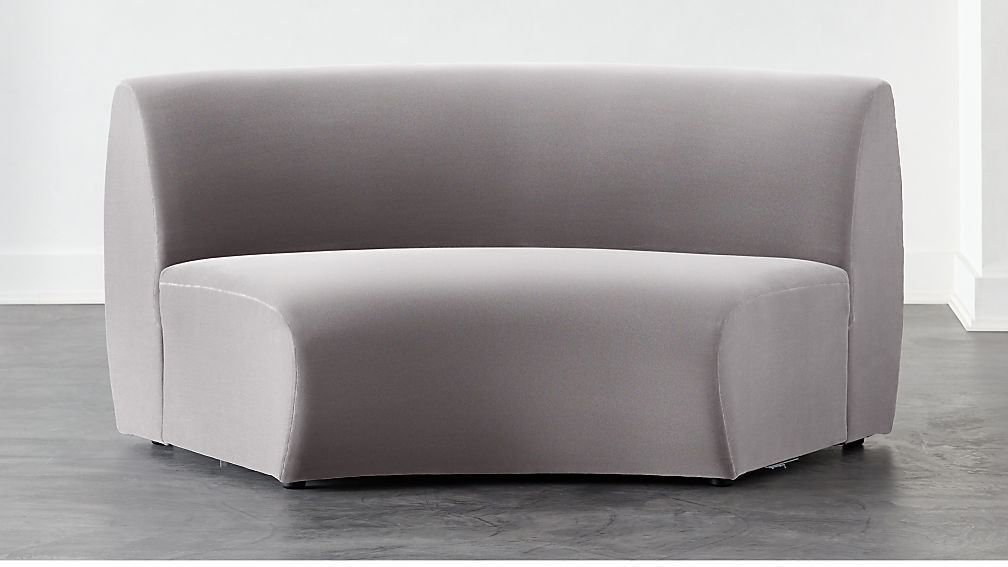 Roma Armless Sofa - Image 1 of 6