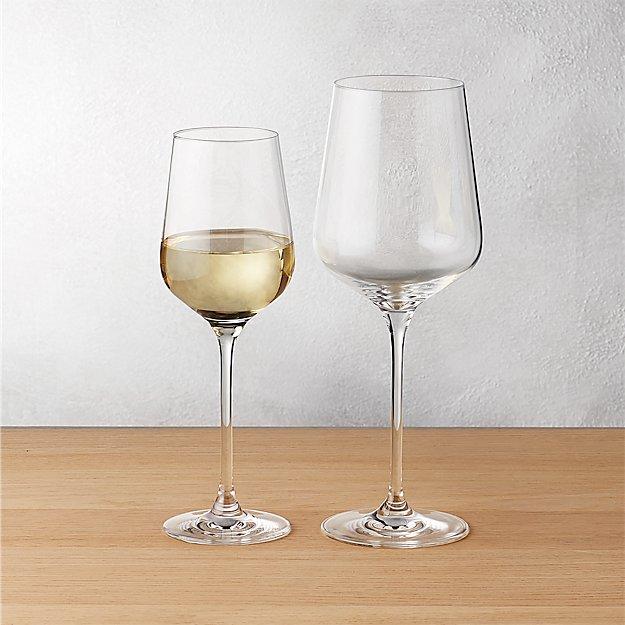 c977f5ed1ac Rona Wine Glasses | CB2