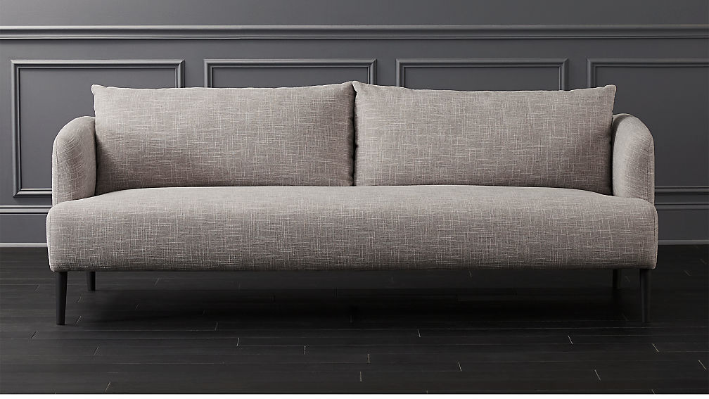 Ronan Ash Sofa + Reviews | CB2