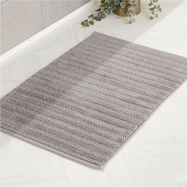 Ronan Grey Bath Mat - Image 1 of 4
