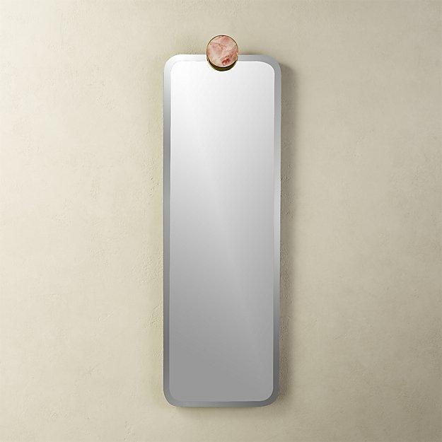 Rose Quartz Mirror - Image 1 of 7