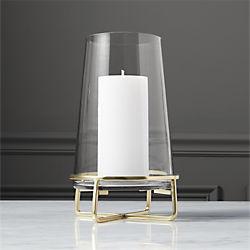 Unique Candle Holders Taper Pillar And Tea Light Cb2