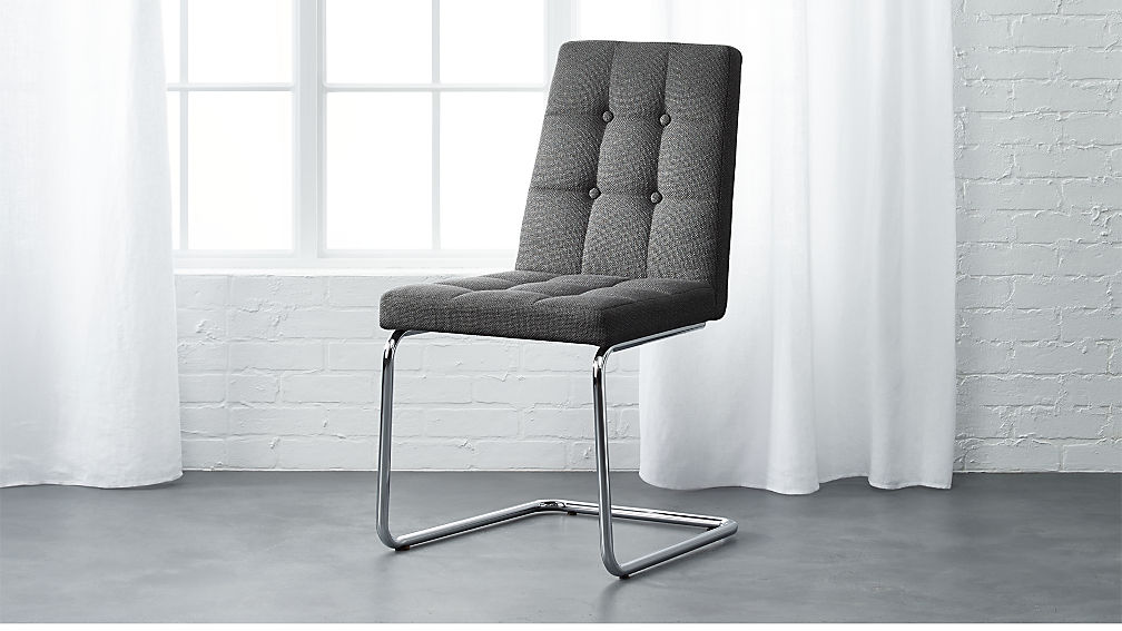 Roya Grey Chair - Image 1 of 8