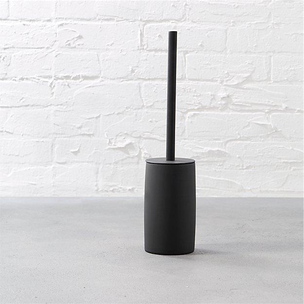 Rubber Coated Black Toilet Brush - Image 1 of 9