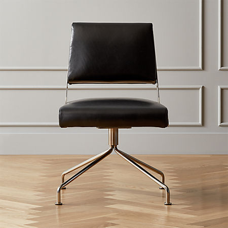 Rue Cambon Leather Office Chair