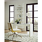 """View product image stairway white 96"""" wall mounted bookcase - image 3 of 12"""