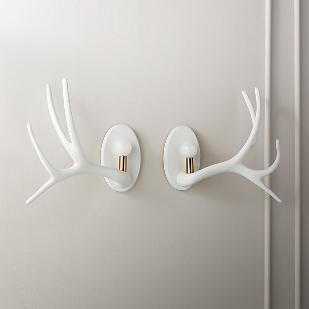 Hayden Antler Sconces - Image 1 of 12