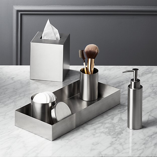 Stainless Steel Bath Accessories CB - Stainless steel table accessories