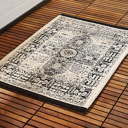 Sa Black Bath Rug Reviews Cb2 Canada