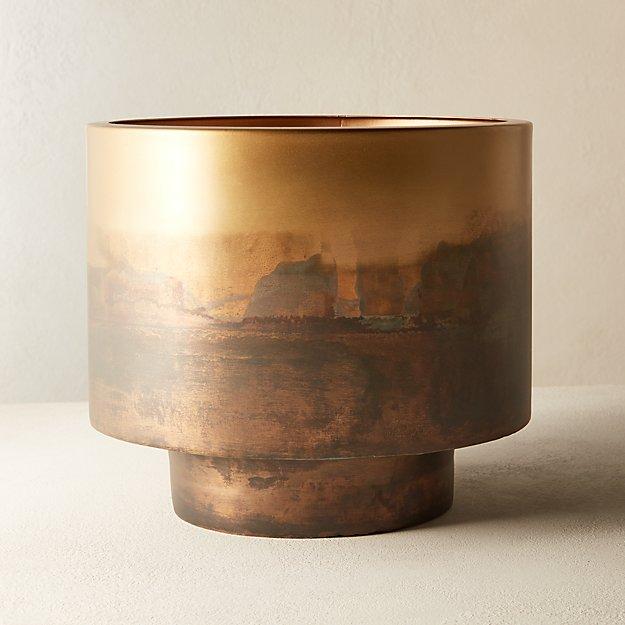 Sahara Brass Planter - Image 1 of 10