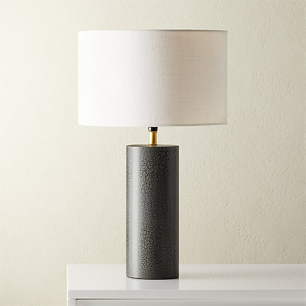 Sahara Grey Table Lamp - Image 1 of 7