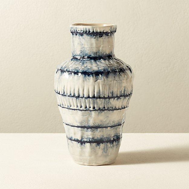 Sando Blue Vase - Image 1 of 3