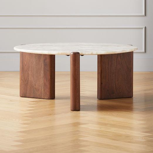 Santoro White Quartz Coffee Table