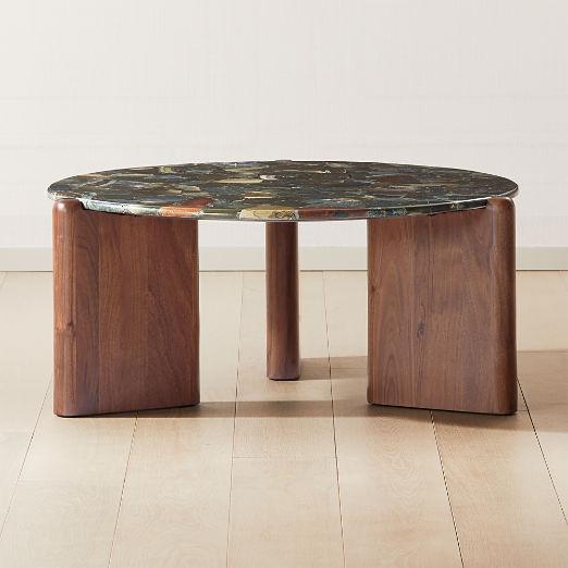 Santoro Green Agate Coffee Table