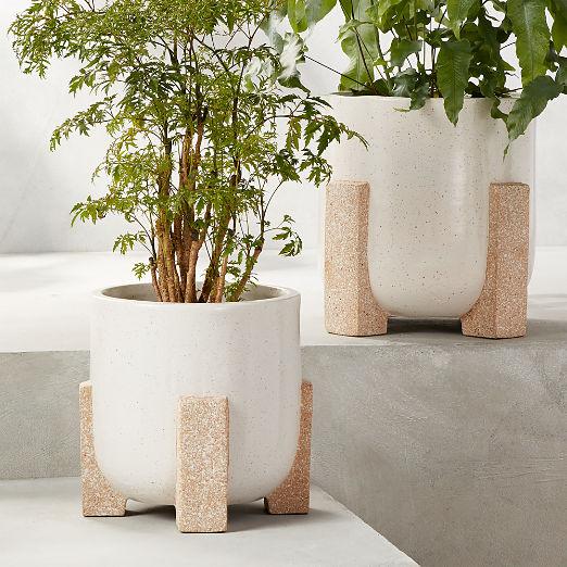 Santos Speckled Planters