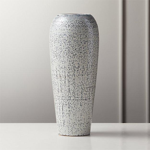 Saul Reactive Blue Vase - Image 1 of 7