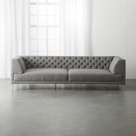 Tufted Sectional Sofas | CB2