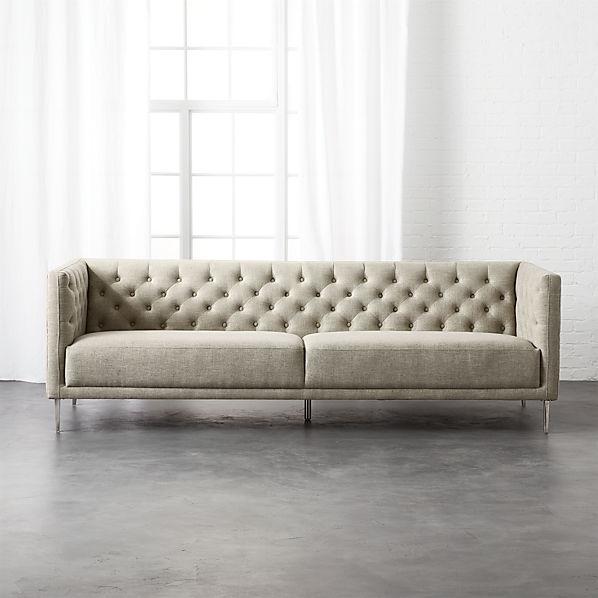 Savile Tufted Sofa