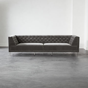 Magnificent Modern Sofas Couches And Loveseats Cb2 Interior Design Ideas Philsoteloinfo