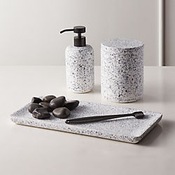 Modern Bathroom Accessories Organize Vanities In Style Cb2