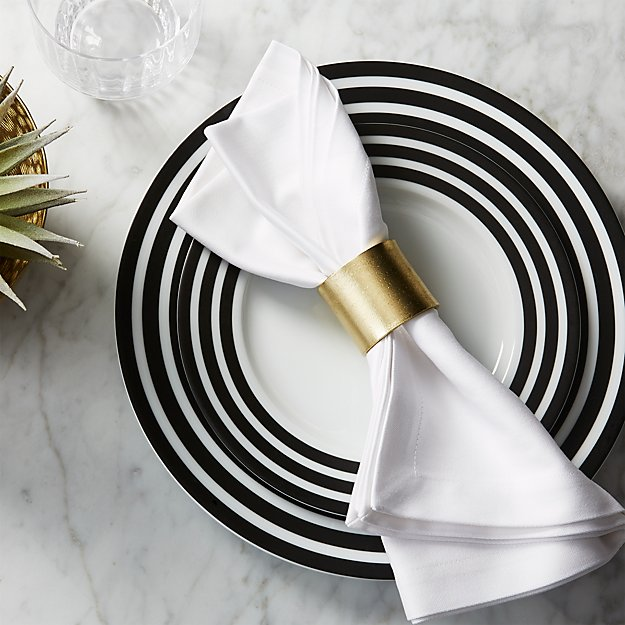 Scott Gold Napkin Ring Reviews Cb2