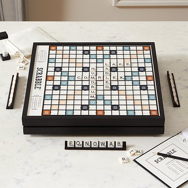 Scrabble ® Deluxe Edition - Image 1 of 4