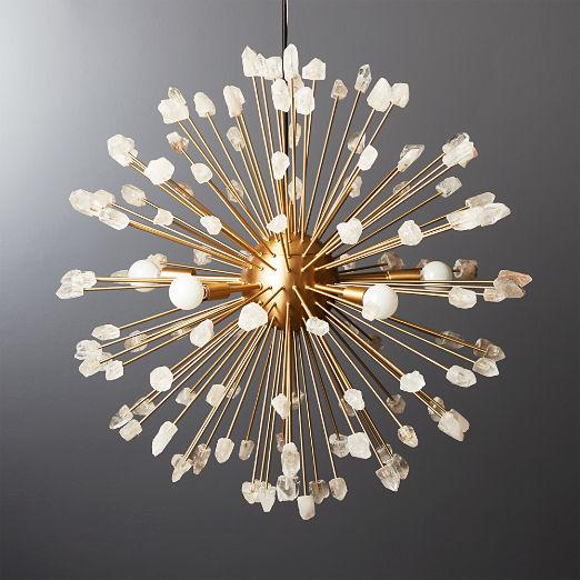 Ray Quartz Pendant Light