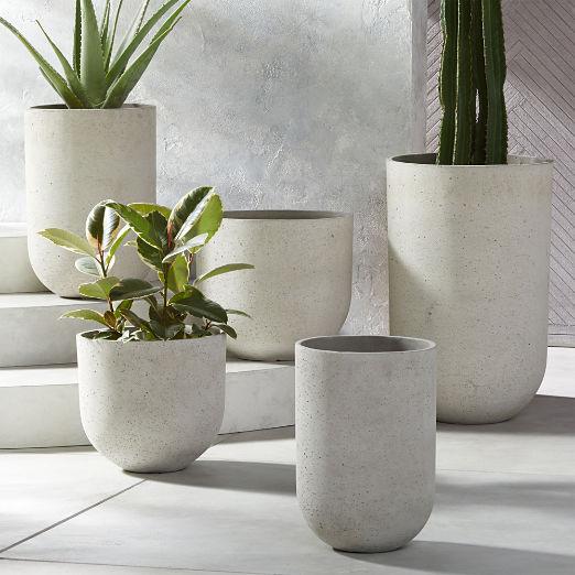 Seminyak Grey Planters