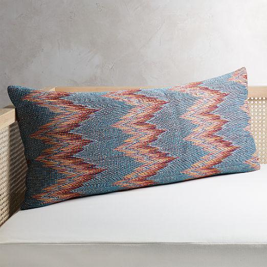 """36""""x16"""" Senica Multicolored Pillow"""