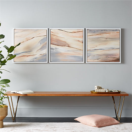 Sentiment Painting Set of 3