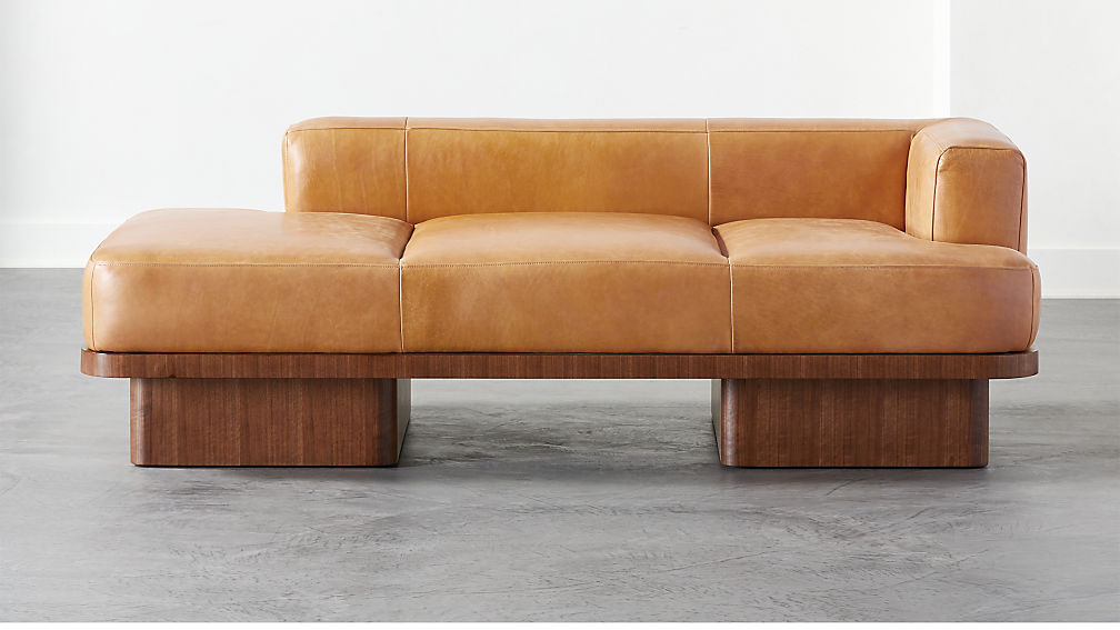 Serafin Leather Daybed - Image 1 of 7