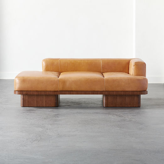 Serafin Leather Daybed