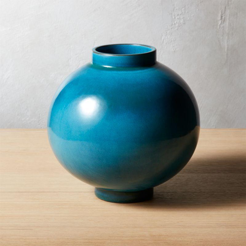 Green Vases Cb2