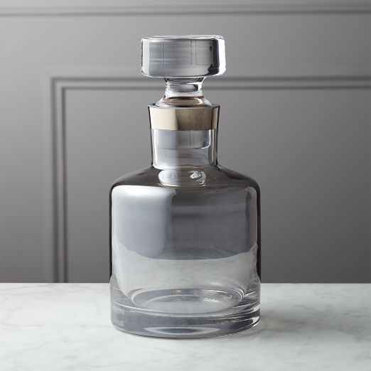 Shade Metallic Decanter