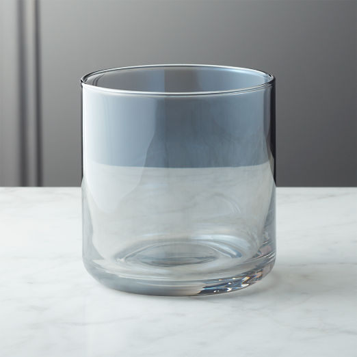 a8cad55142a Shade Smoke Luster Double Old-Fashioned Glass