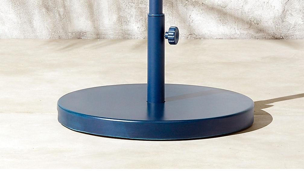 Shadow Rectangular-Round Navy Umbrella Base - Image 1 of 2