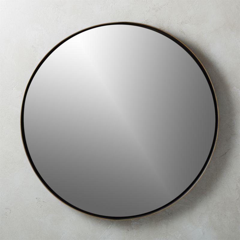 Brass Mirrors Cb2