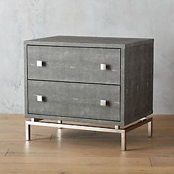 modern nightstands and bedside tables | cb2 Nightstand Dresser