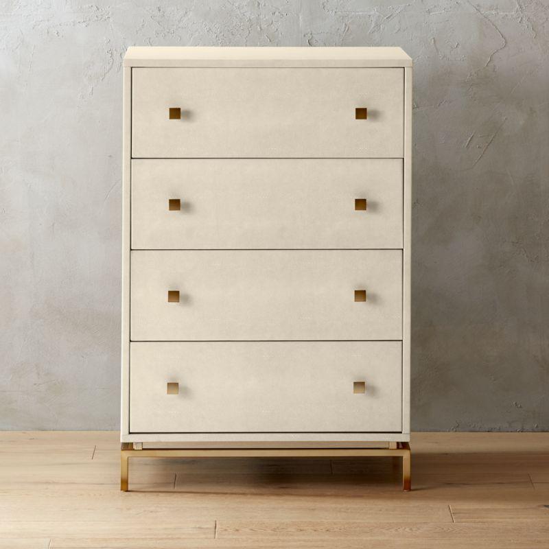 Faux Shagreen Furniture | CB2