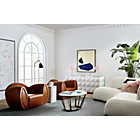 View product image Moon 2-Piece Pearl Sofa - image 4 of 10