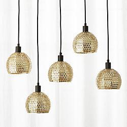 Modern chandeliers and pendant lighting cb2 shimmer pendant light aloadofball Gallery