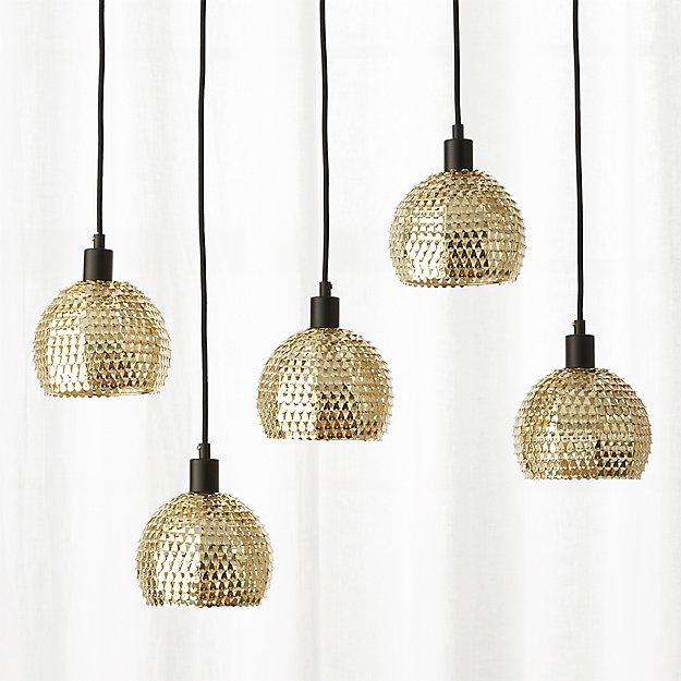 Shimmer Pendant Light + Reviews