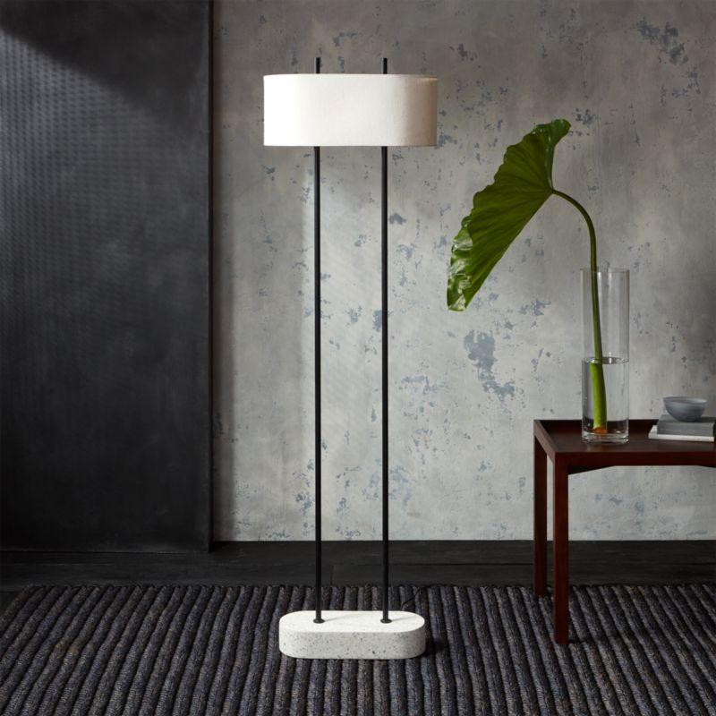Shiro floor lamp reviews cb2 aloadofball Image collections