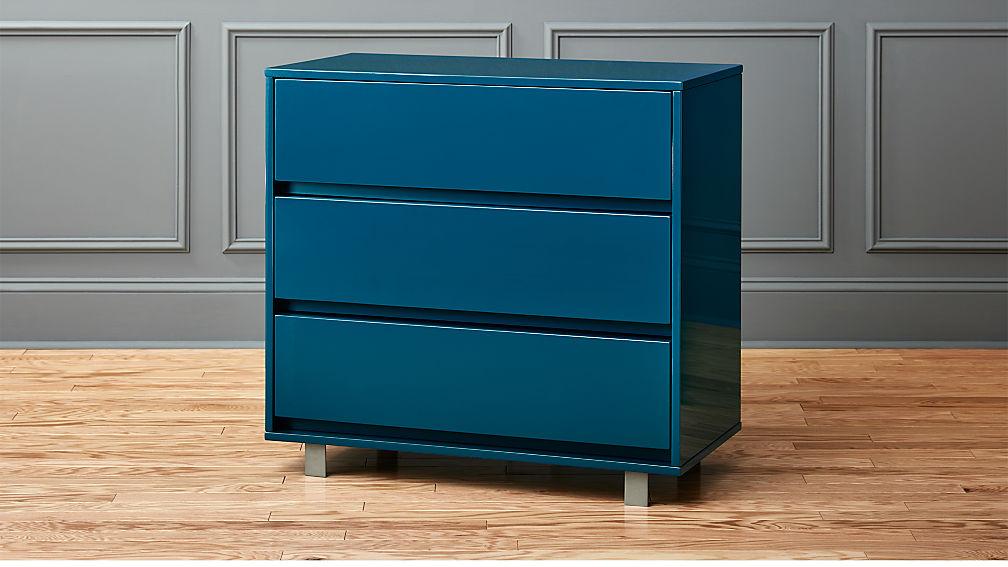 Favorite shop blue chest + Reviews   CB2 XB61