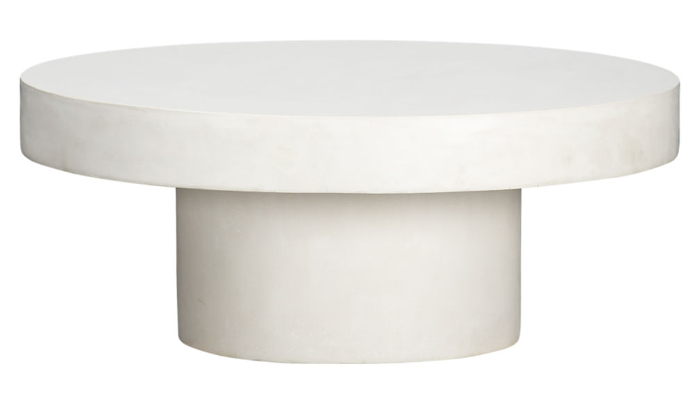 Shroom White Cocktail Table + Reviews | CB2