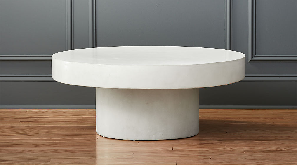 shroom white cocktail table reviews cb2. Black Bedroom Furniture Sets. Home Design Ideas