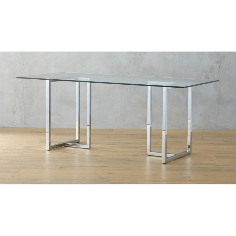 Silverado Round Dining Table CB - 72 round modern dining table