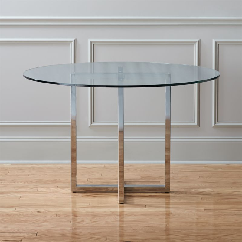 Glass Dining Tables | CB2