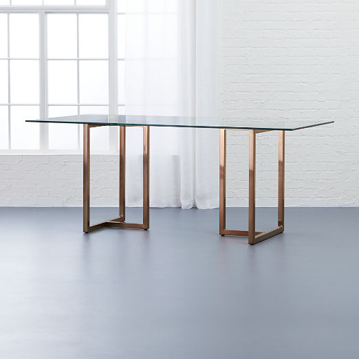 Crate And Barrel Dining Tables
