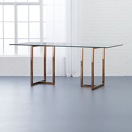Outstanding Silverado Brass 72 Rectangular Dining Table Creativecarmelina Interior Chair Design Creativecarmelinacom